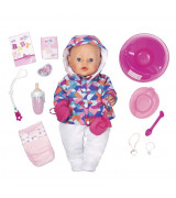 ZAPF BABY BORN pehmeä nukke talviasussa, tyttö, 43 cm