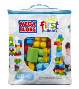 MATTEL Mega Bloks Builders rakennuspussi, 60 kpl