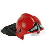 KLEIN Tuletõrjuja kiiver, punane