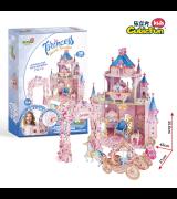 CUBICFUN 3D Palapeli Prinsessan salainen puutarha