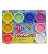 HASBRO Play-Doh 8 kpl