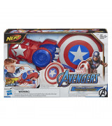 HASBRO AVENGERS Power Moves Role Play Captain America-hahmo