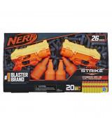 HASBRO NERF Alpha Strike Cobra RC 6 Dual target -setti