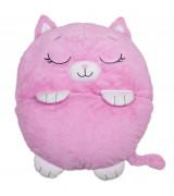JAY@ PLAY HAPPY NAPPERS makuupussi Vaaleanpunainen kissa 137 cm