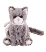 BUKOWSKI Harmaa kissa Kitty, 25 cm