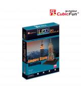 CUBICFUN 3D Palapeli LED Empire State Building