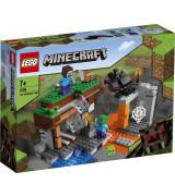 """LEGO MINECRAFT """"Hylätty"""" kaivos 21166"""