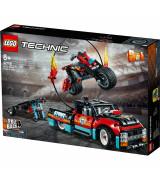 LEGO TECHNIC Stunttishow´n kuorma-auto ja pyörä 42106