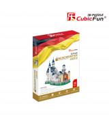 CUBICFUN 3D Palapeli Neuschwansteinin linna