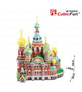 CUBICFUN 3D Palapeli Kristuksen ylösnousemuksen katedraali