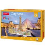CUBICFUN 3D palapeli PARIISI