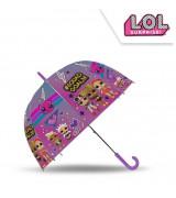KIDS Lasten manuaalinen sateenvarjo L.O.L, 18´´