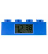 CLICTIME LEGO BRICK herätyskello, sininen