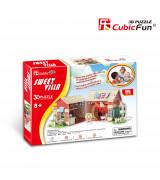 CUBICFUN 3D Palapeli Villa