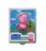 95772 Gardening with granny pig