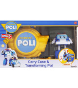 POLI ROBOCAR Carry Case & Transforming Poli-pelisetti
