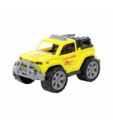 POLESIE Legion keltainen auto