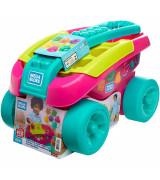 MEGA BLOKS PTF Wagon (vaaleanpunainen)