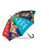 KIDS Lasten automaattinen sateenvarjo Ryhmä Hau, 18´´