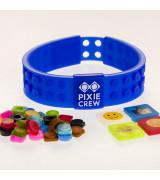 PIXIE CREW Ystävyysranneke sininen