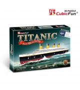 CUBICFUN 3D palapeli Titanic pieni
