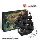 CUBICFUN 3D palapeli Laiva Queen Ann´s Revenge