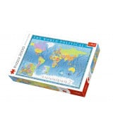 TREFL Palapeli 2000 Maailman Kartta