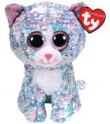Ty Beanie Boos WHIMSY - sininen kissa litraa 40cm