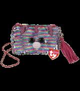 Ty Fashion ELISE - neliön muotoinen käsilaukku, jossa sateenkaaren yksisarvinen litraa