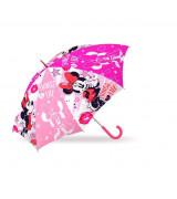 KIDS Lasten automaattinen sateenvarjo Minnie, 18´´
