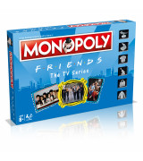 WINNING MOVES Monopoly Friends lautapeli ENG