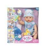 ZAPF BABY BORN SOFT TOUCH interaktiivinen nukke, pehmeä poikanukke, 38 cm