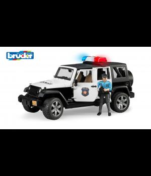 BRUDER Jeep Wrangler Rubicon poliisiauto