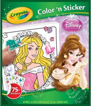 CRAYOLA Värityskirja Prinsessat