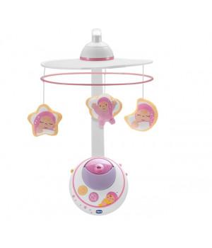 CHICCO Magic Star Cot Vauvamobile (Tytöille)