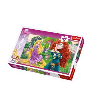 TREFL Prinsessat ja Urhea Merida -palapeli 100