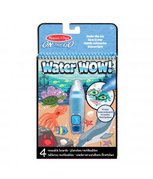 MELISSA & DOUG Water Wow! vesimaalauskirja Meri