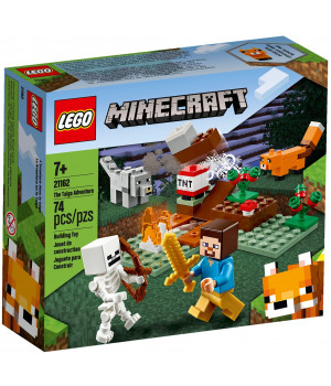 LEGO MINECRAFT Taiga-seikkailu 21162
