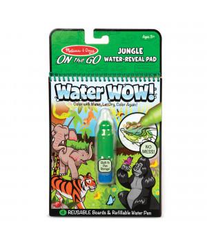 MELISSA & DOUG Water Wow vesimaalauskirja Viidakko