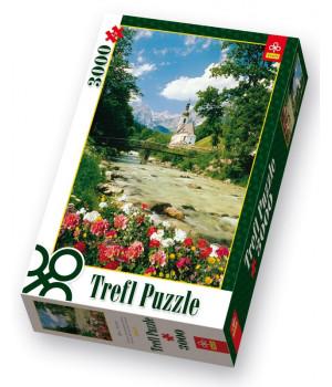TREFL Bavarian Alpit - palapeli 3000