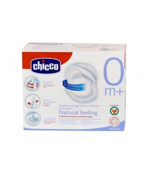 CHICCO NATURAL FEELING Antibakteriaalsed rinnapadjad, 30tk