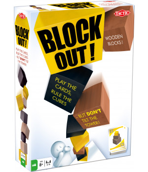 TACTIC Pöytäpeli Block Out!