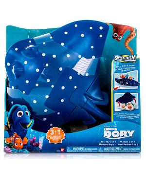 Bandai Finding Dory kohver Mr.Ray, 4+