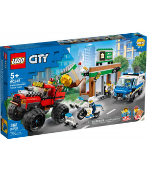 LEGO CITY Ryöstö monsteriautolla 60245