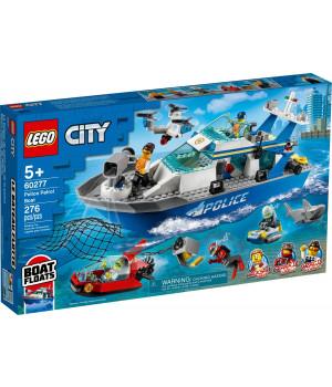 LEGO CITY Poliisin partiovene 60277