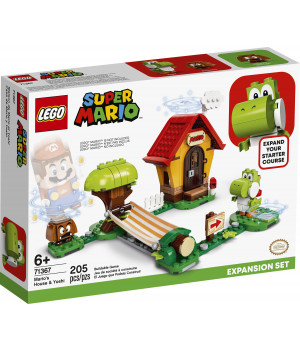 LEGO SUPER MARIO Marion talo ja Yoshi -laajennussarja 71367