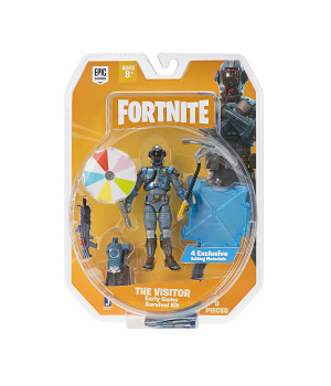 JAZWARES FORTNITE Early Game Survival Kit 1 hahmo - The Visitor