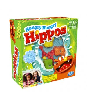 HASBRO Hungry Hungry Hippos -virtahepo