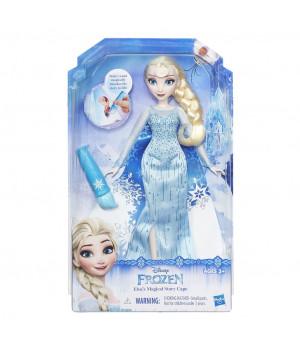 B6700 Elsa Magical Story Cape Doll