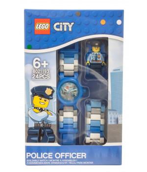 CLIC LEGO CITY POLICEMAN rannekello